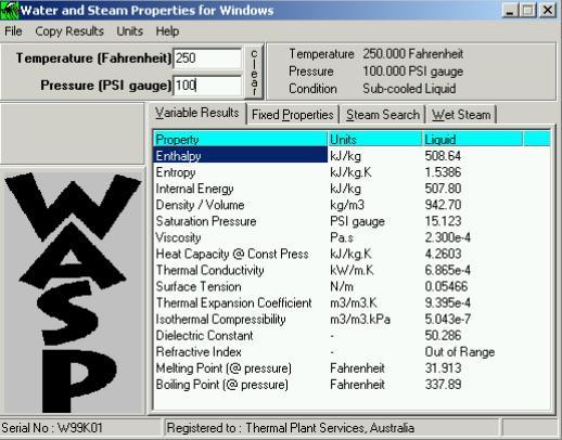 WASP Soft para Termodinámica y Máquinas Térmicas
