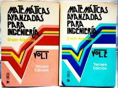 Matemáticas Avanzadas Para Ingeniería  (Kreyszing) - 3 Edición VOL 1-2